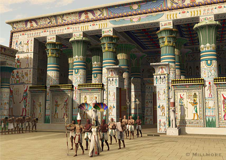 Temple of Horus at Edfu Limited Edition