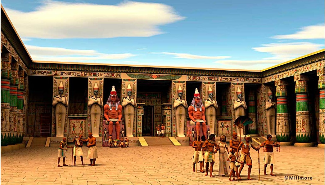 Ramesseum Second Court